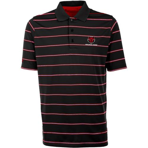 Antigua Men's Arkansas State University Deluxe Stripe Polo Shirt