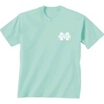 New World Graphics Women's Mississippi State University Comfort Color Circle Flowers T-shirt - view number 2