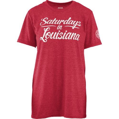 Three Squared Juniors' University of Louisiana at Lafayette Saturday T-shirt