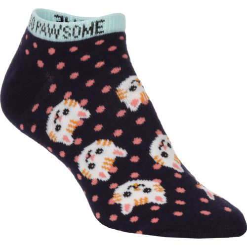 BCG Women's Cats Fashion Socks 6 Pack