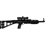 Hi-Point Firearms 995TS Carbine 9mm Luger Semiautomatic Rifle with 4 x 32 Scope - view number 1