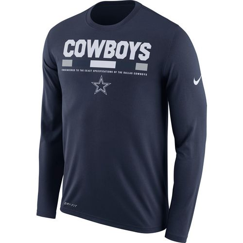 Nike Men's Dallas Cowboys Staff Legend Long Sleeve T-shirt