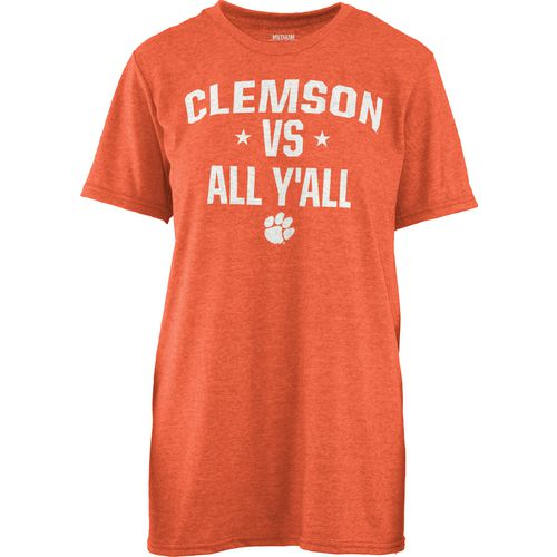 Three Squared Women's Clemson University Vs. All Y'all T-shirt