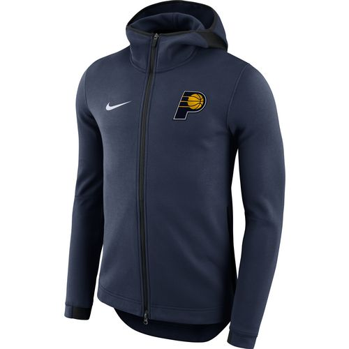 Nike Men's Indiana Pacers Showtime Full Zip Hooded Jacket