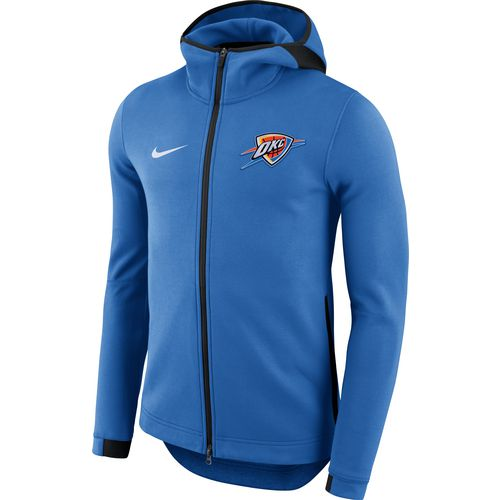 Nike Men's Oklahoma City Thunder Showtime Full Zip Hooded Jacket