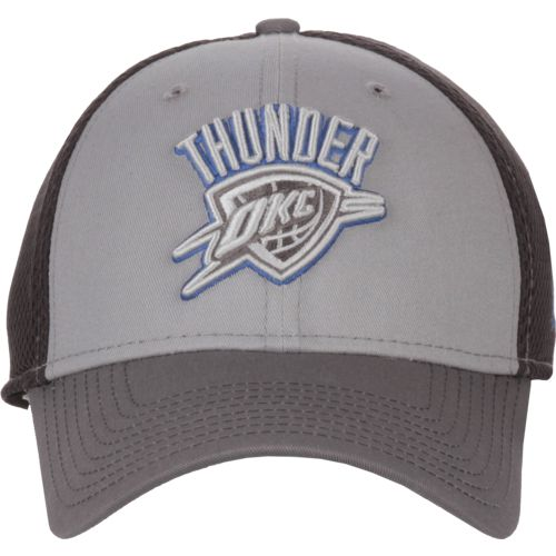 New Era Men's Oklahoma City Thunder Grayed Out 39THIRTY Neo Cap