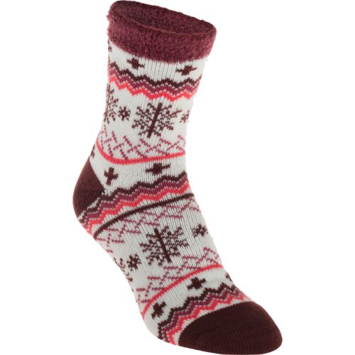 Display product reviews for Magellan Outdoors Women's Lodge Snowflake Socks