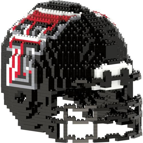 Forever Collectibles Texas Tech University 3-D BRXLZ Helmet Puzzle