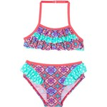 O'Rageous Girls' Heavenly Medallion Bikini - view number 1