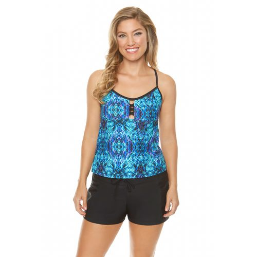 BCG Women's Skin Synergy Tankini Swim Top