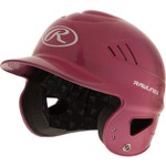 Rawlings Adults' Coolflo Metallic Baseball Batting Helmet - view number 3