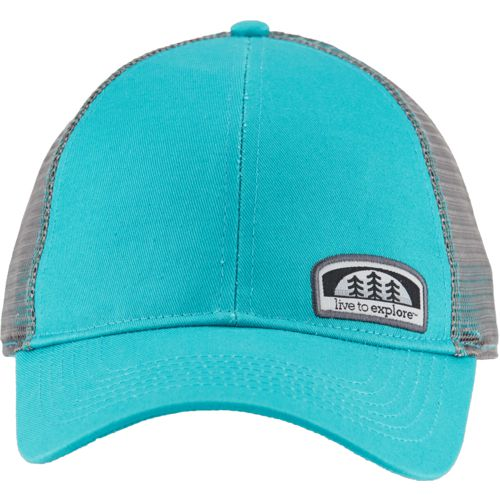 Magellan Outdoors Men's Live to Explore Patch Trucker Cap