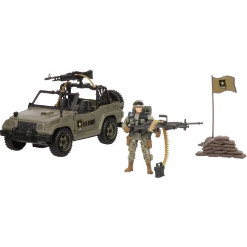 Excite U.S. Army Patrol Playset