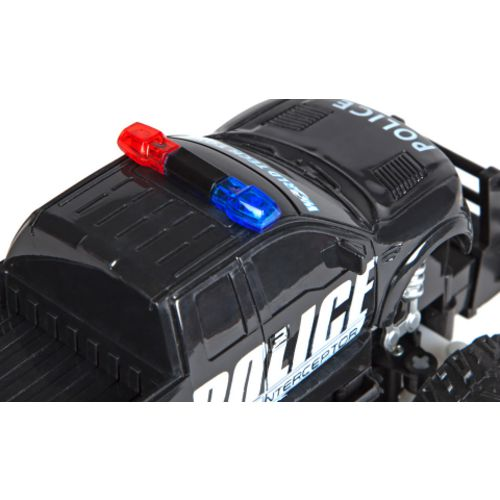 World Tech Toys Ford F-150 SVT Raptor Police Pursuit RTR Electric RC Monster Truck Set - view number 5
