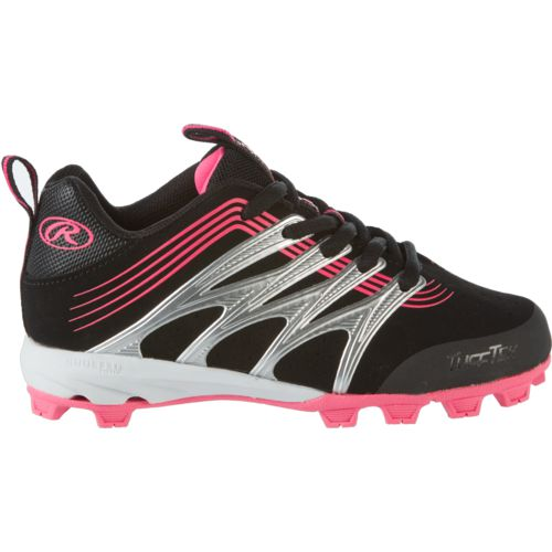 Display product reviews for Rawlings Kids' Deuce Low Baseball Shoes