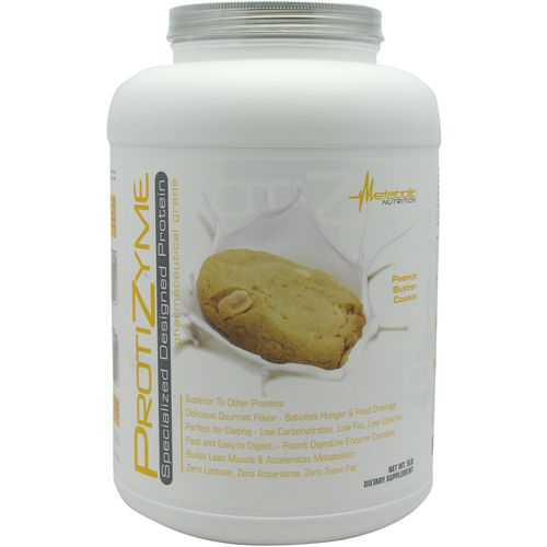 Metabolic Nutrition Protizyme Specialized Designed Protein Powder