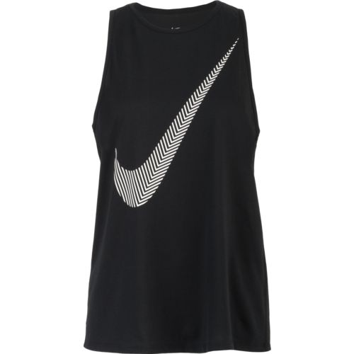 Display product reviews for Nike Women's Dry Swoosh Tomboy Training Tank Top