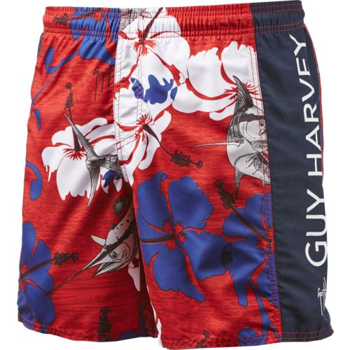 Guy Harvey Men's Backchannel Volley Swim Trunks
