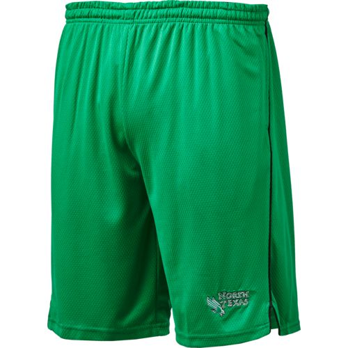 Colosseum Athletics Men's University of North Texas Embroidered Mesh Shorts