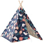 CRcKT Kids' Floral Teepee Play Tent - view number 1