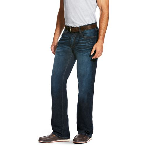 Ariat Men's M5 Slim Legacy Stretch Stackable Straight Leg Jeans