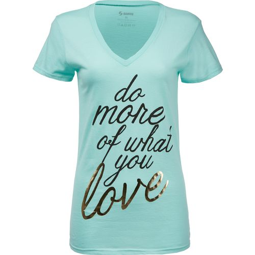 Soffe Women's Do More Of What You Love T-shirt