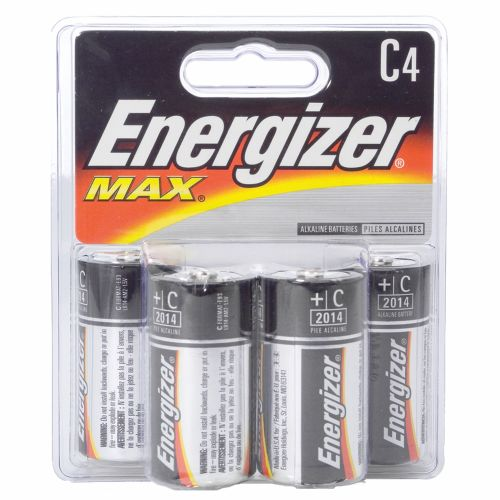 Energizer® Max C Batteries 4-Pack