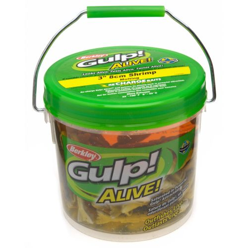 "Berkley® Gulp!® Alive!™ 3"" Shrimp Bucket"