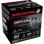 Winchester Super-X Drylok Super Steel Waterfowl Load 20 Gauge Shotshells - view number 1