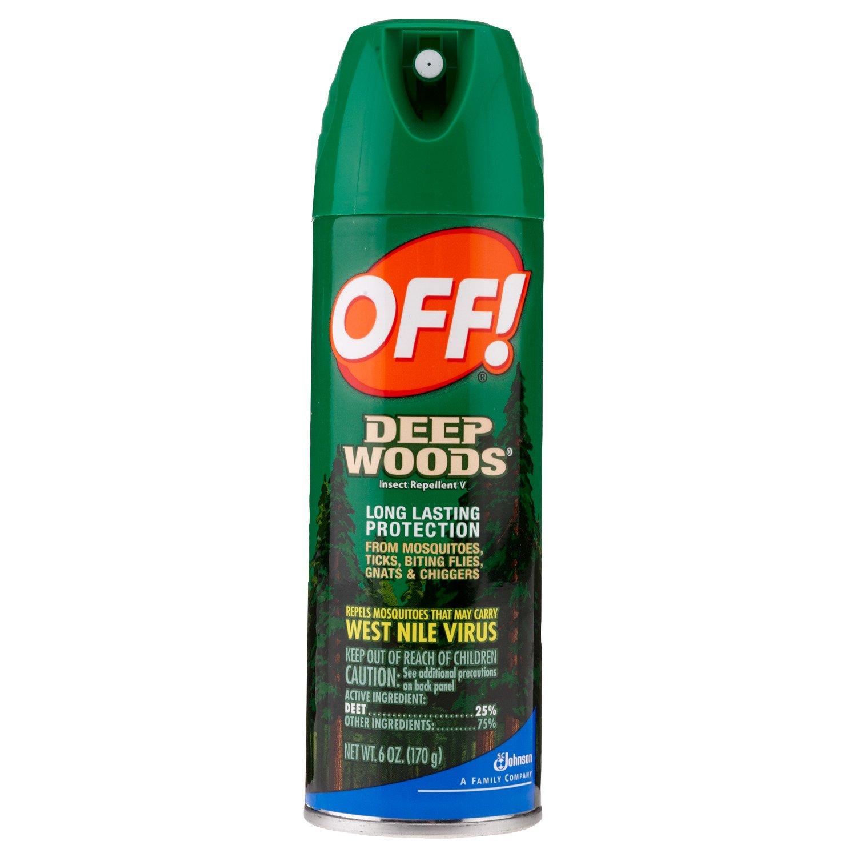 OFF! Deep Woods® 6 oz. Aerosol Insect Repellent
