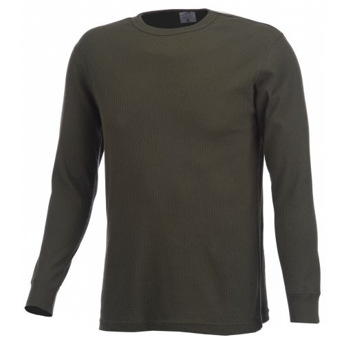 Polar Edge® Men's Silver Series Midweight Thermal Crew Neck Shirt