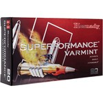 Hornady V-MAX™ Superformance™ Varmint .22-250 50-Grain Rifle Ammunition