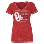 Step Ahead Blue 84 Women's Oklahoma Bo V-neck T-shirt