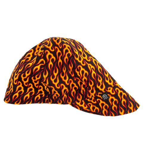 ZANHeadgear® Adults' Flame Pattern Welder's Cap