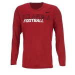 Nike Men's University of Oklahoma Legend Conference Long Sleeve T-shirt