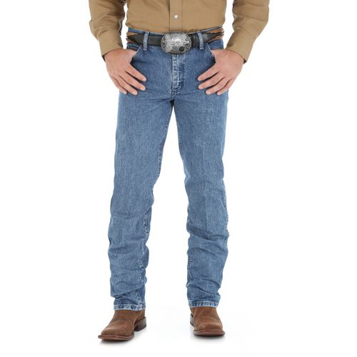 Display product reviews for Wrangler Men's Premium Performance Cowboy Cut Regular Fit Jean