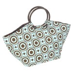Fit & Fresh Athens Insulated Designer Bag with Ice Pack