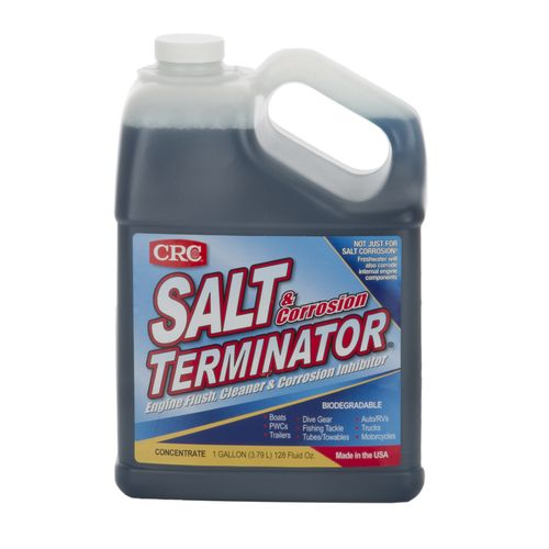 CRC Marine Salt Terminator® 1-Gallon Engine Flush, Cleaner and Corrosion Inhibitor