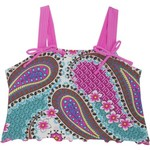 Malibu Girls' Bali Patch Tankini