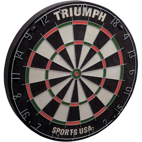 Display product reviews for Triumph Sports USA Pro Level Hy-Mark Bristle Dartboard