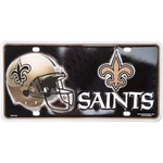 Tag Express New Orleans Saints Primary Logo Metal Tag - view number 1