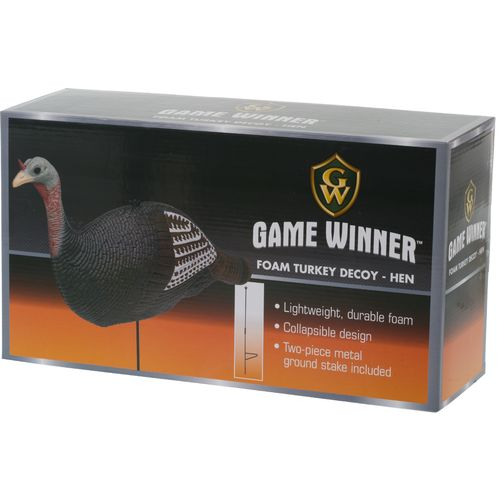 Display product reviews for Game Winner® Upright Hen Turkey Decoy
