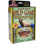 Hi-Country 14.23 oz. Twin Gulch Garlic Pepper Domestic Meat and Wild Game Jerky Seasoning and Cure K