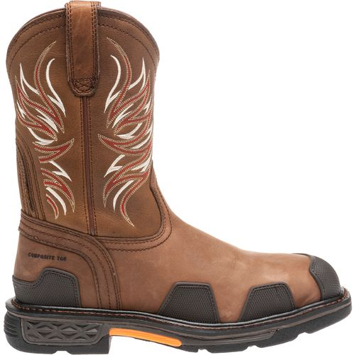 Ariat Men's Overdrive Wide Square Toe Work Boots | Academy