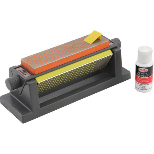 "Smith's 6"" Diamond Tri-Hone Sharpening Stone"
