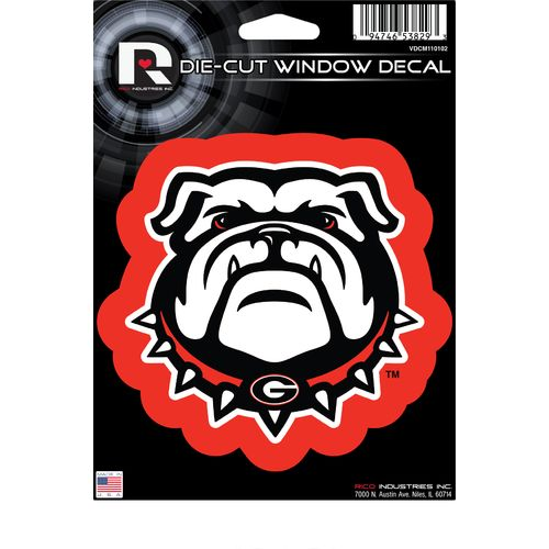 Rico University of Georgia Die-Cut Bumper Sticker