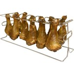 King Kooker 12-Slot Leg and Wing Rack for Poultry - view number 1