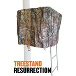 Cottonwood Outdoors Weathershield Treestand Resurrection 1 Panel ADA Blind System Add-on - view number 1