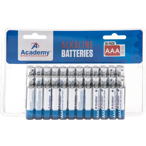 Academy Sports + Outdoors AAA Alkaline Batteries 36-Pack