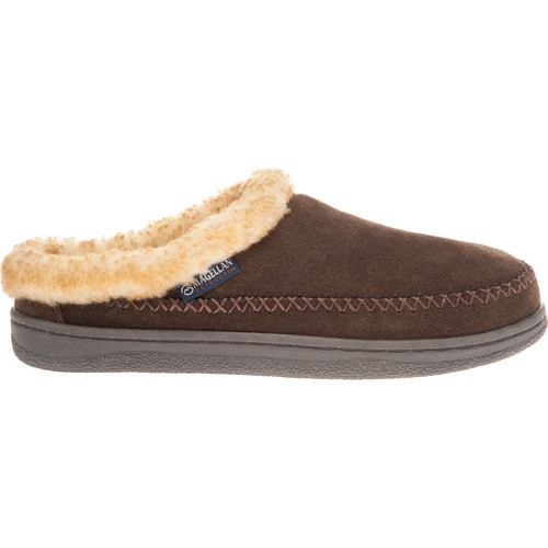 Magellan Outdoors Men's Suede Mule Slippers